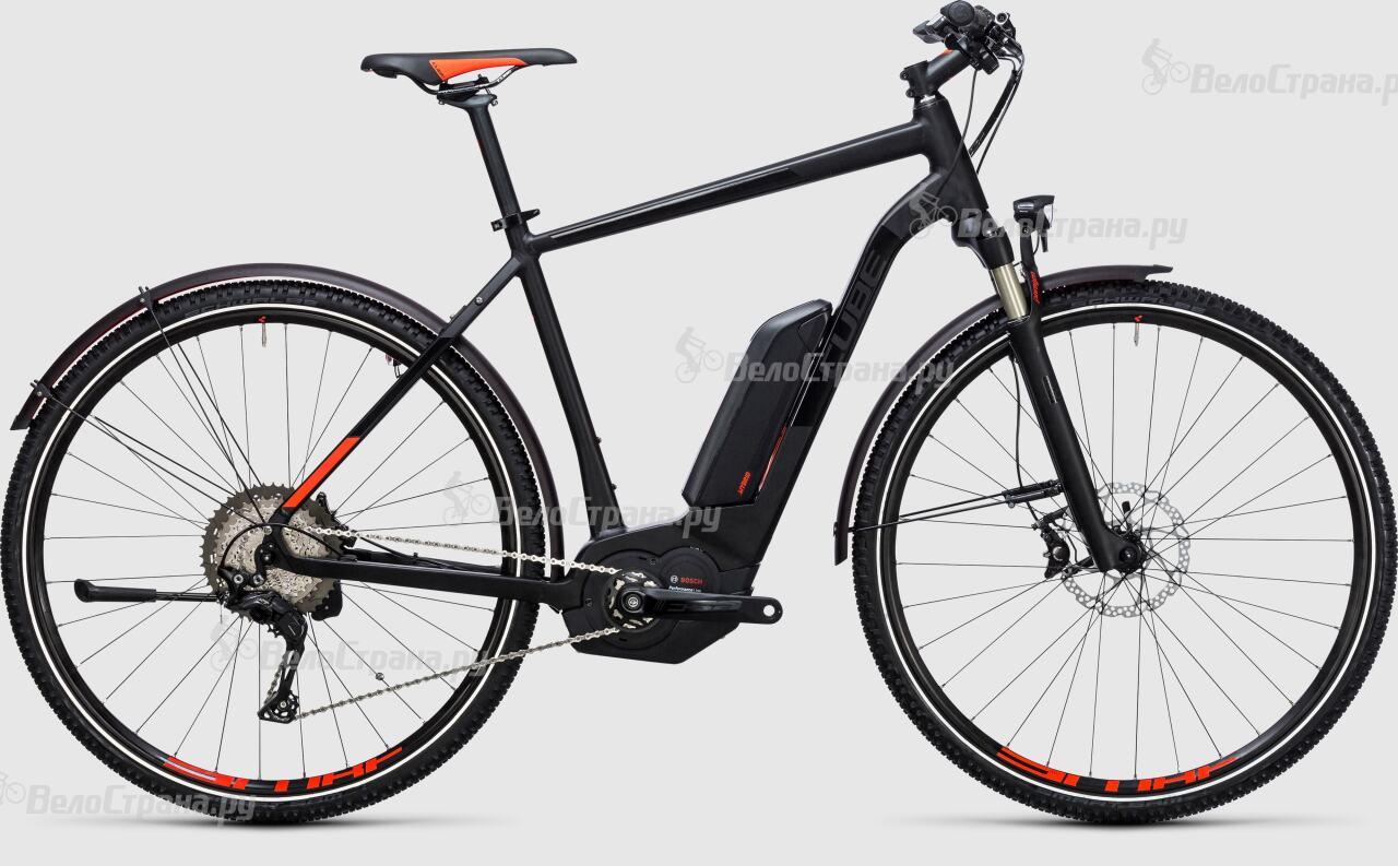 Велосипед Cube Cross Hybrid SL Allroad 500 (2017) велосипед cube curve allroad 2016