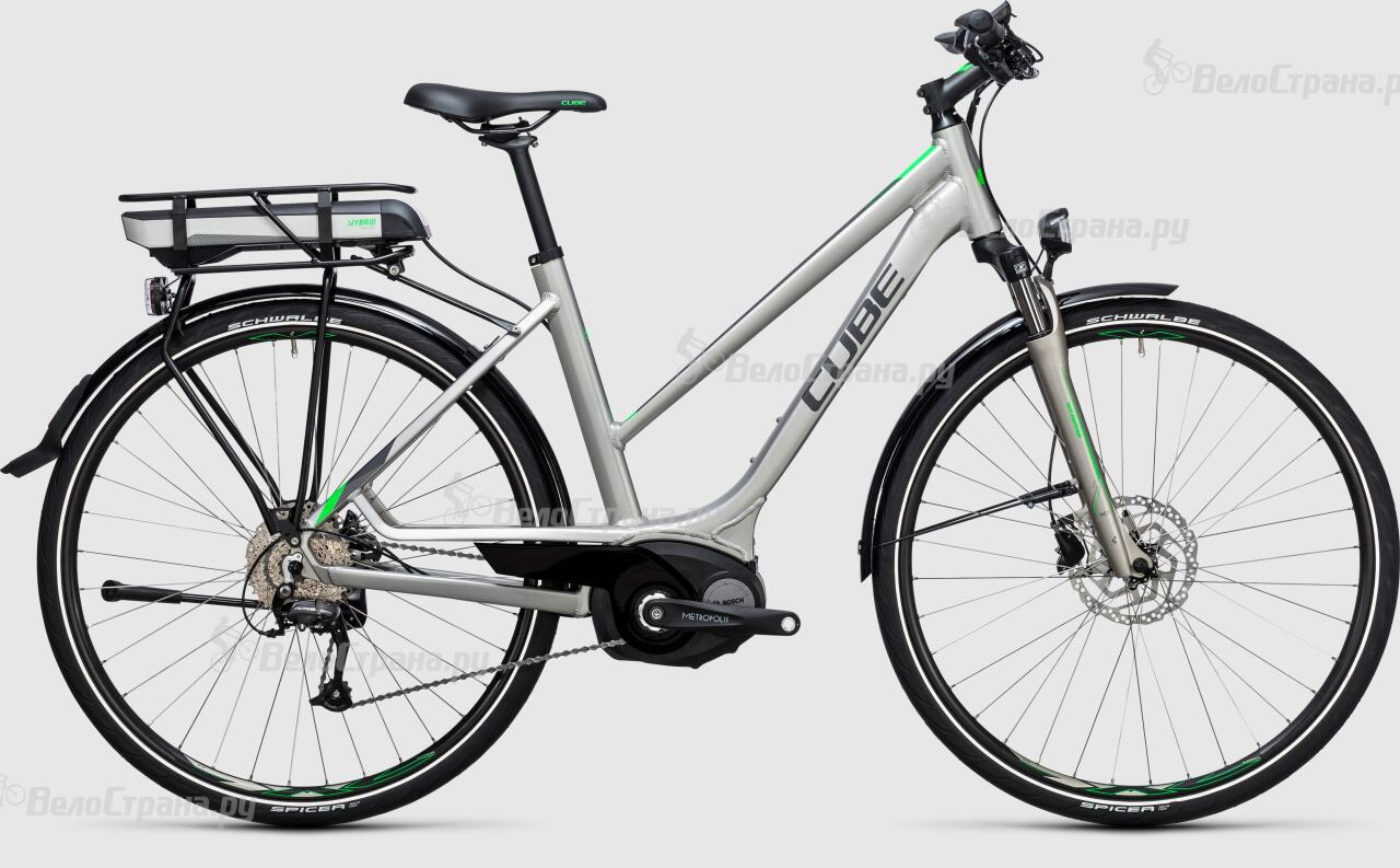 Велосипед Cube Touring Hybrid ONE 400 Lady (2017)
