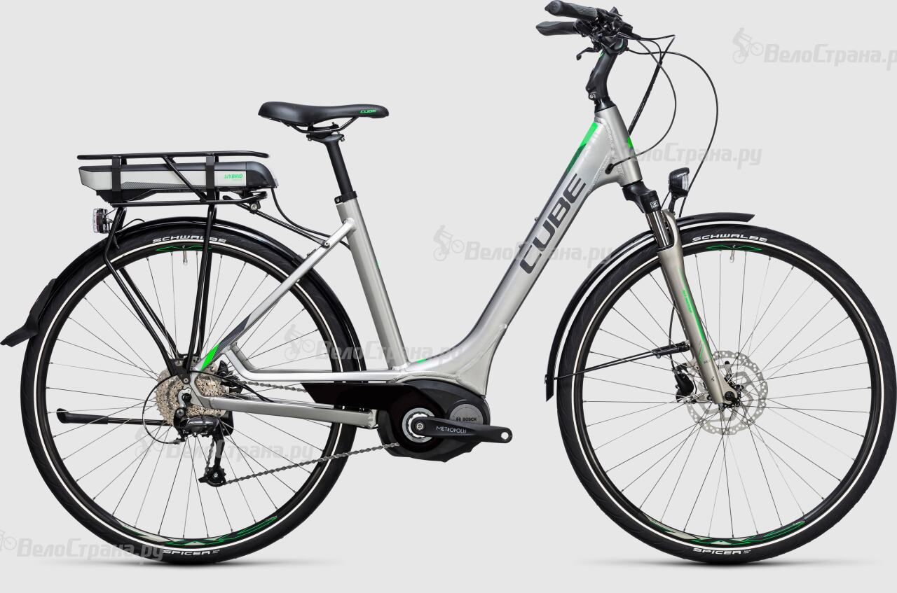 Велосипед Cube Touring Hybrid ONE 400 Easy Entry (2017) велосипед cube touring hybrid one 400 lady 2018
