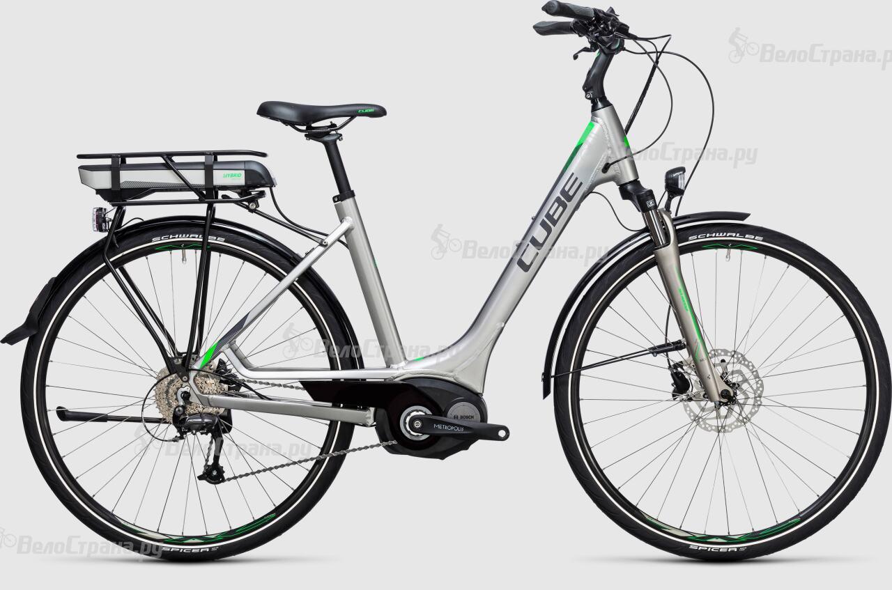 где купить Велосипед Cube Touring Hybrid ONE 500 Easy Entry (2017) по лучшей цене