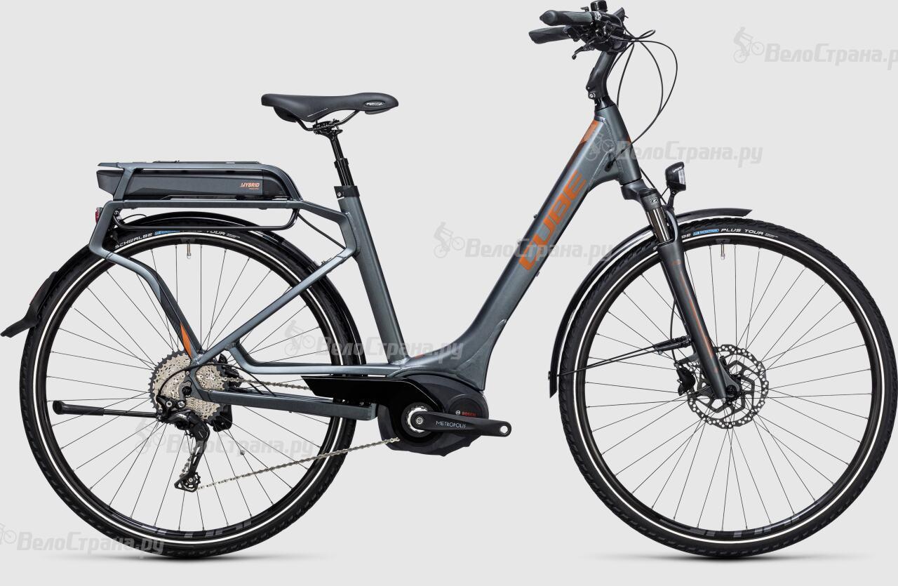 где купить Велосипед Cube Touring Hybrid EXC 400 Easy Entry (2017) по лучшей цене