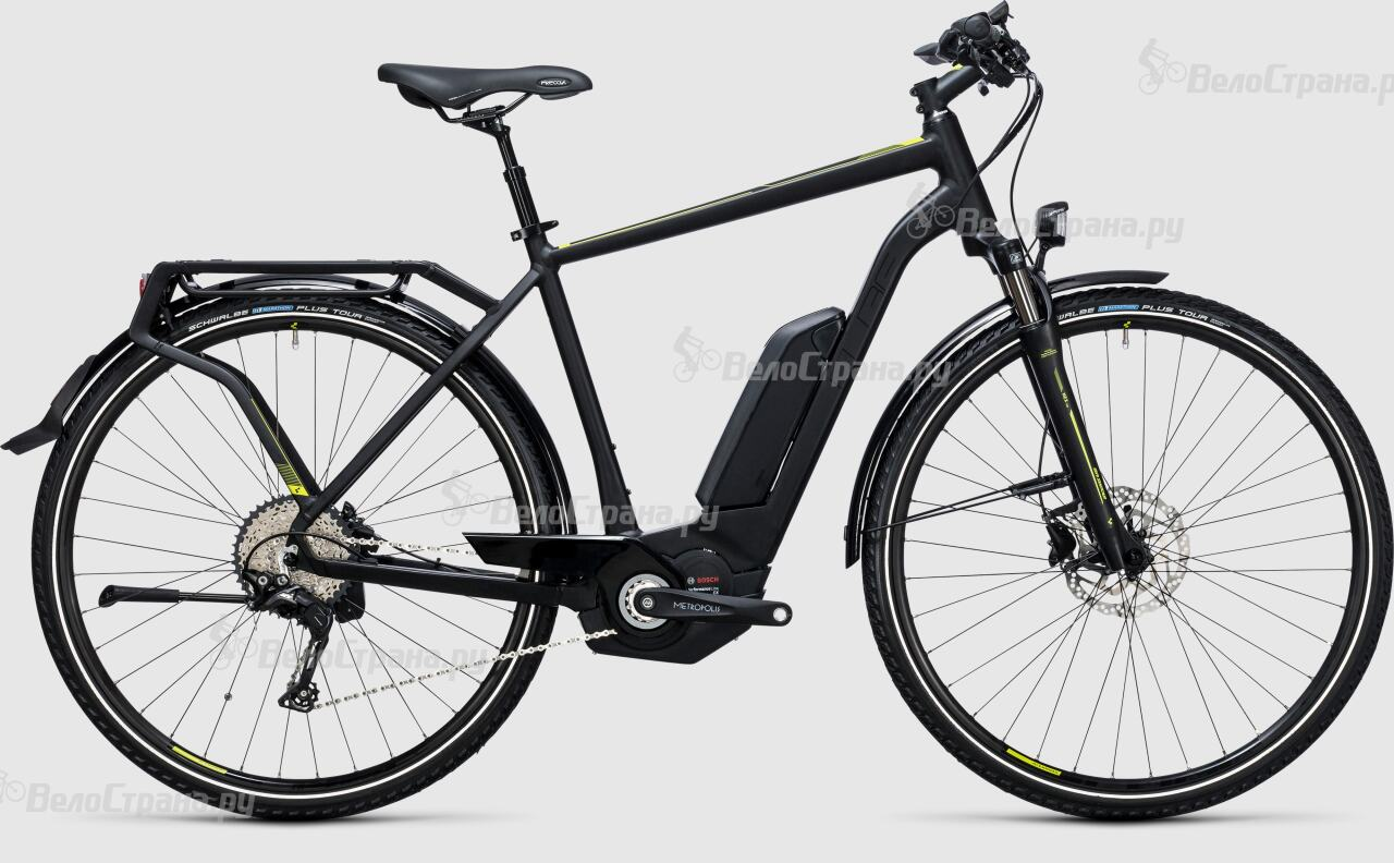 Велосипед Cube Touring Hybrid Exc 400 (2017) велосипед cube touring exc lady 2018