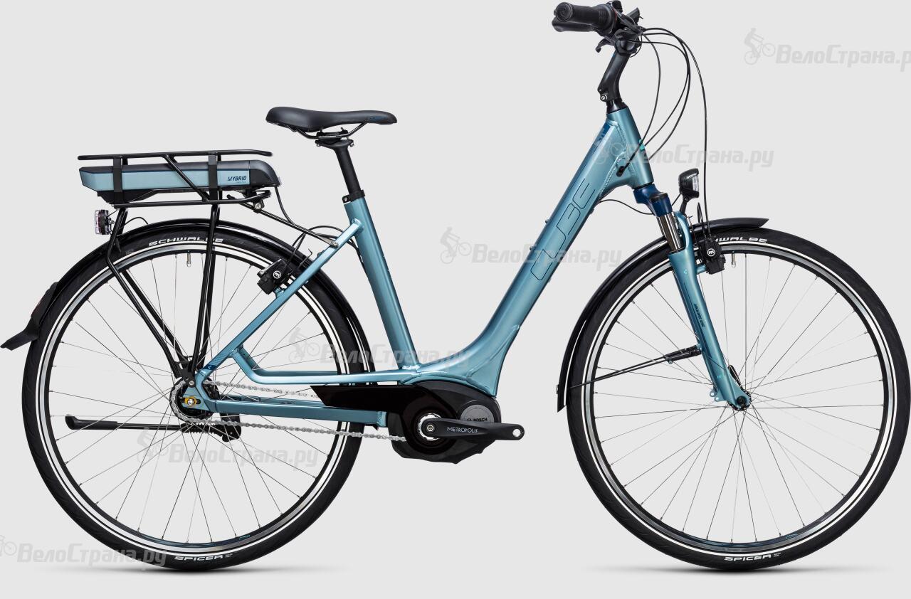 Велосипед Cube Travel Hybrid ONE RT 400 (2017)