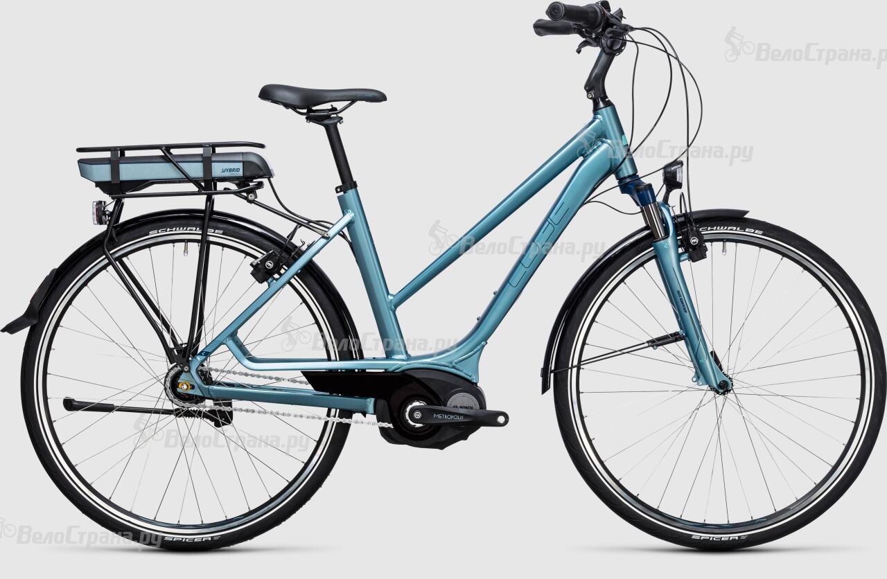 Велосипед Cube Travel Hybrid ONE 400 Lady (2017)