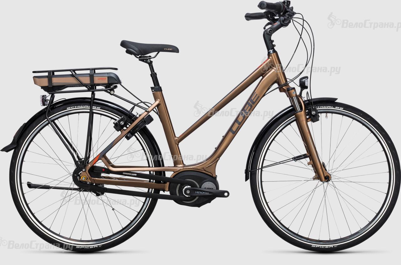 Велосипед Cube Travel Hybrid 500 Lady (2017)