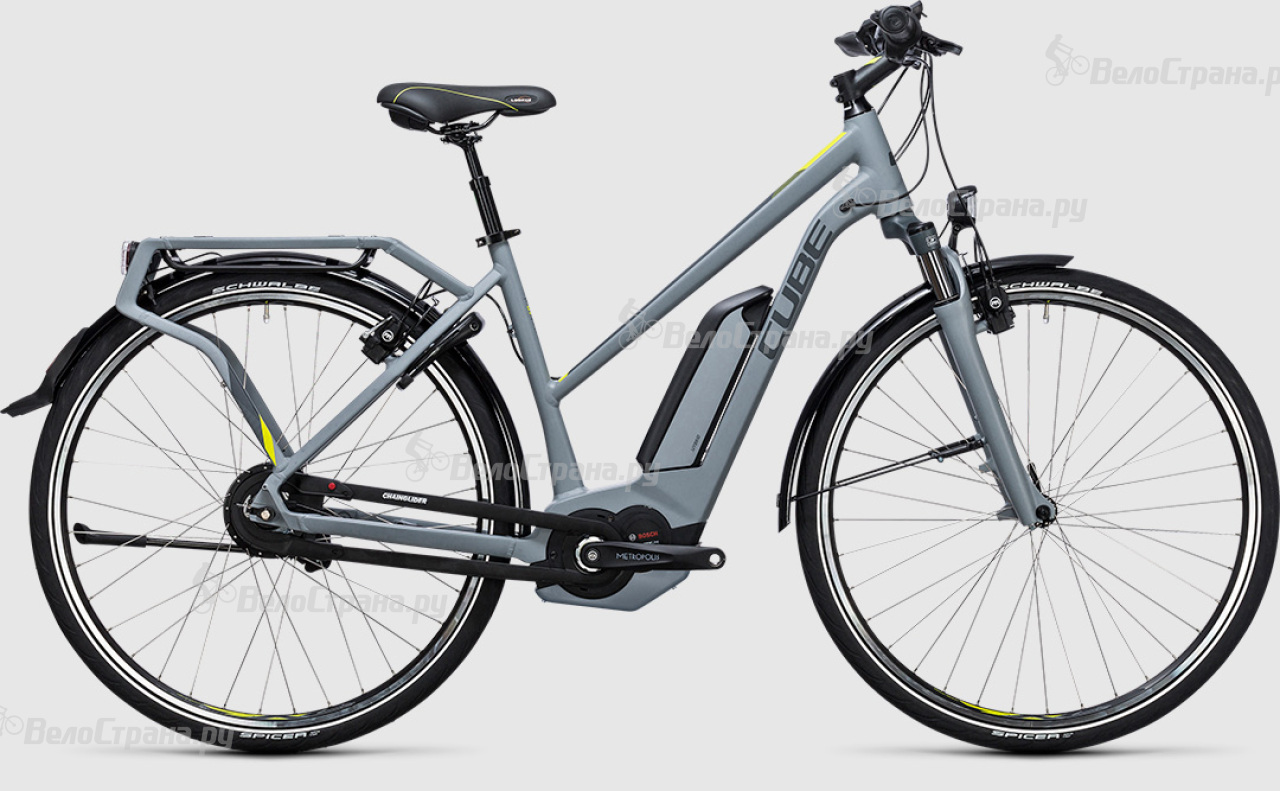 Велосипед Cube Delhi Hybrid 500 Lady (2017)