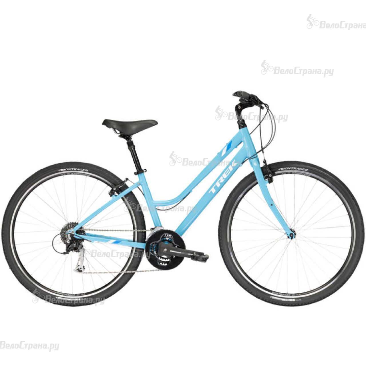 Велосипед Trek Verve 3 WSD (2017) велосипед trek verve 3 wsd 2013