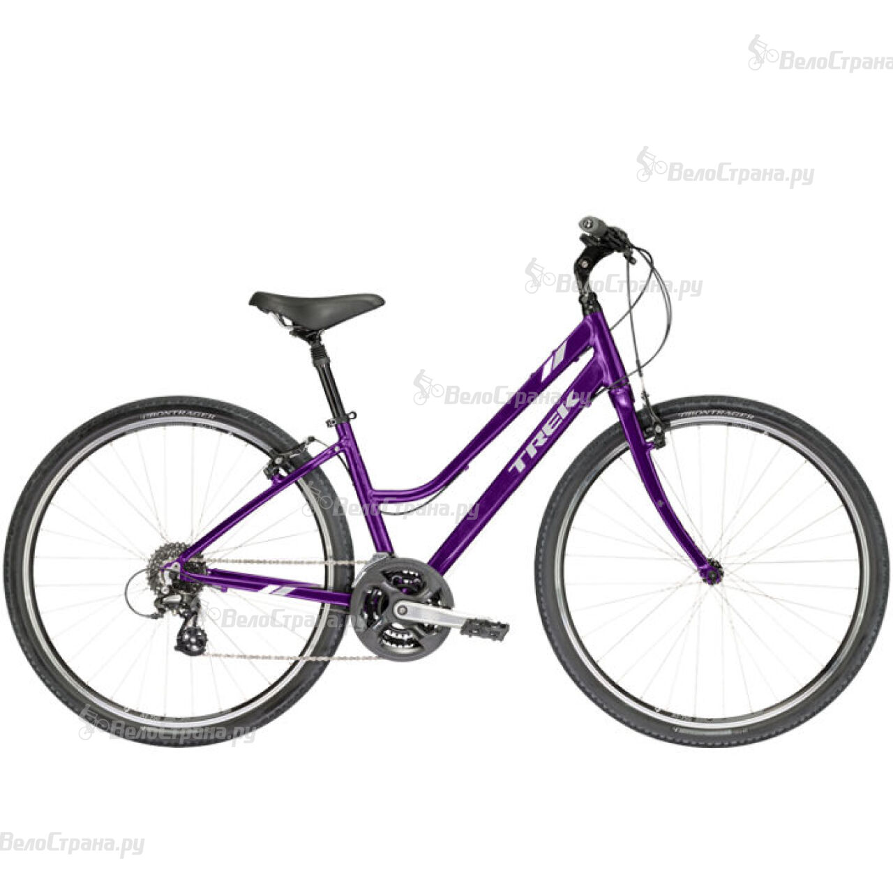 Велосипед Trek Verve 2 WSD (2017) велосипед trek verve 3 wsd 2017