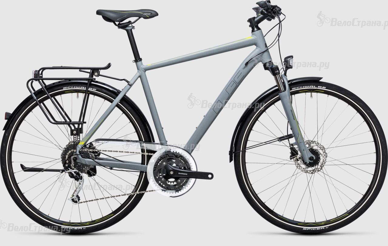 Велосипед Cube Touring Exc (2017) велосипед cube touring exc lady 2018