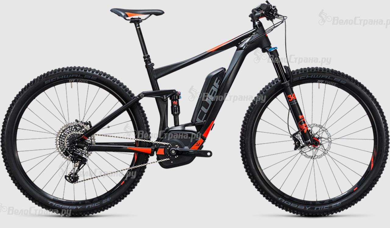 Велосипед Cube Stereo Hybrid 120 HPA SL 500 29 (2017)
