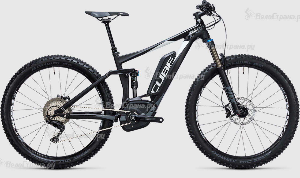 Велосипед Cube Stereo Hybrid 120 HPA SL 500 27.5+ (2017)