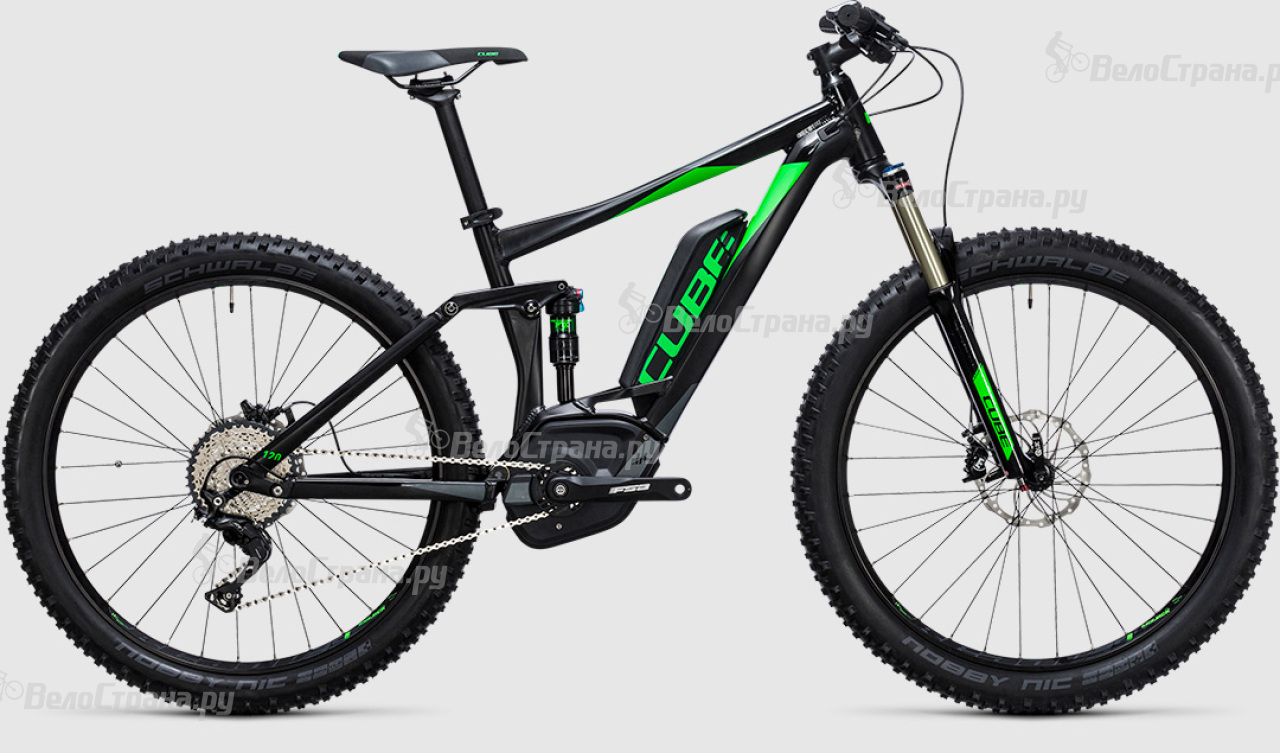 Велосипед Cube Stereo Hybrid 120 HPA Race 500 27.5+ (2017) велосипед cube stereo 120 hpa race 29 2016