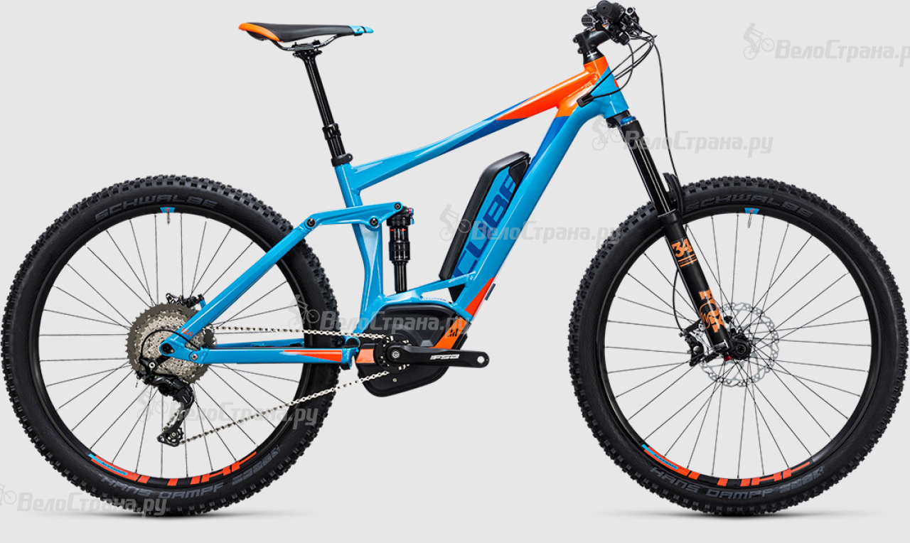 Велосипед Cube Stereo Hybrid 140 HPA Race 500 27.5 (2017) велосипед cube stereo 140 hpa race 27 5 2015