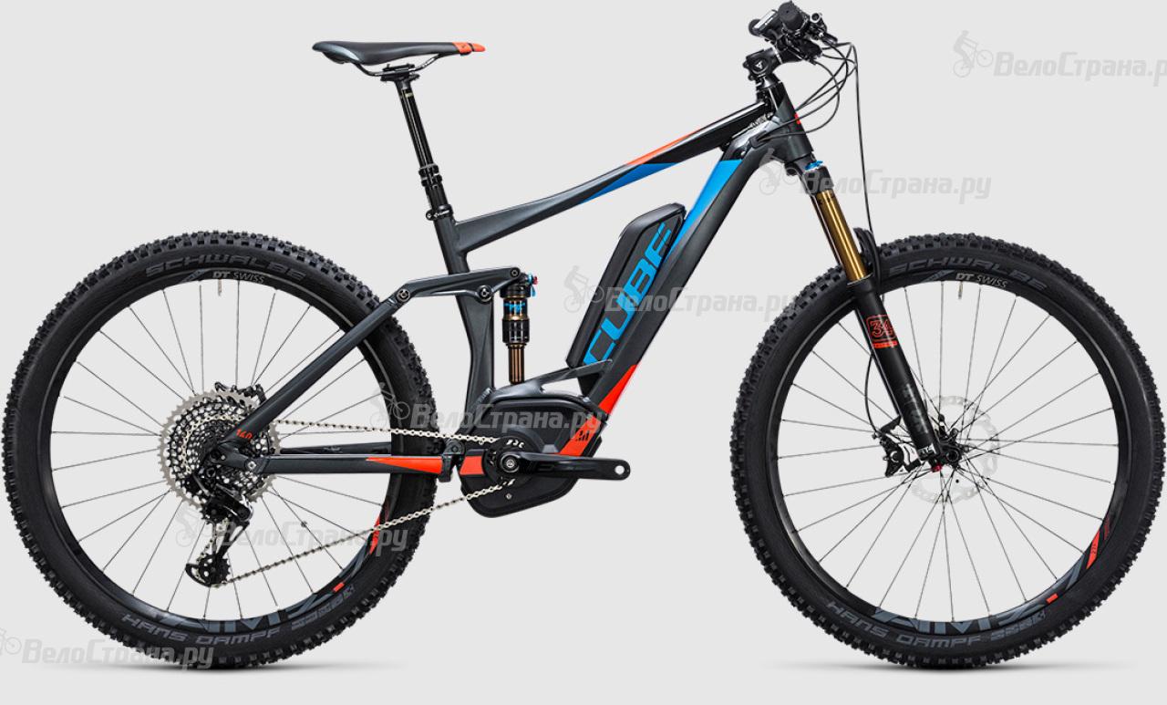 Велосипед Cube Stereo Hybrid 140 HPA SL 500 27.5 (2017)