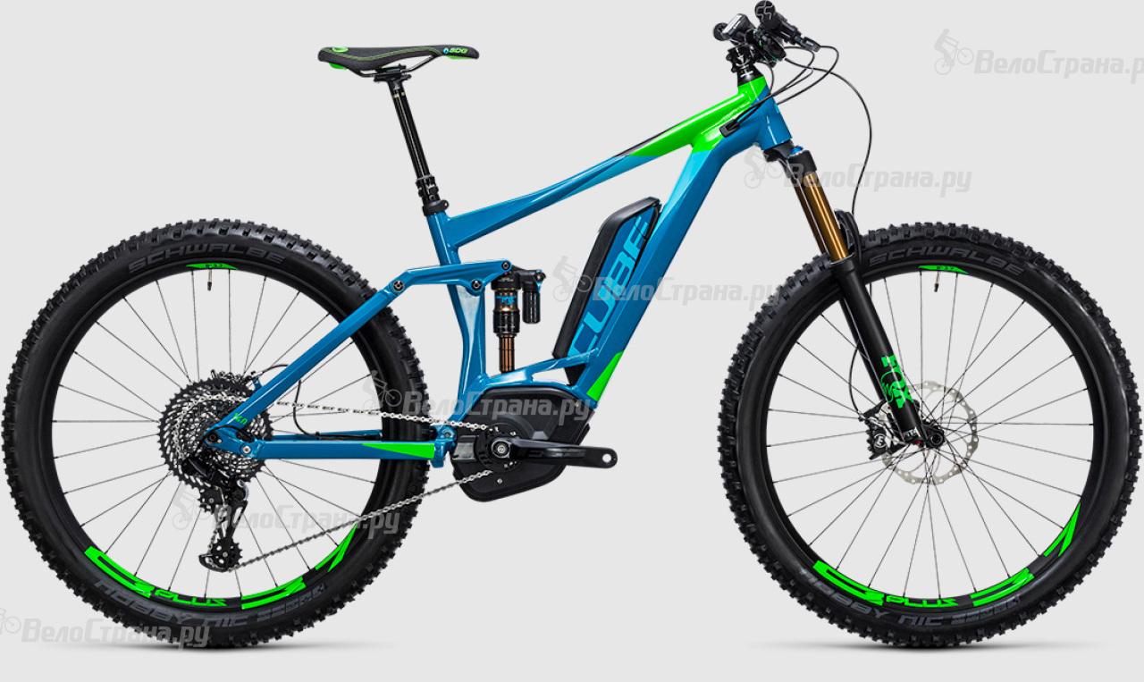 Велосипед Cube Stereo Hybrid 140 HPA SLT 500 27.5+ (2017) велосипед cube stereo 160 hpa race 27 5 2016