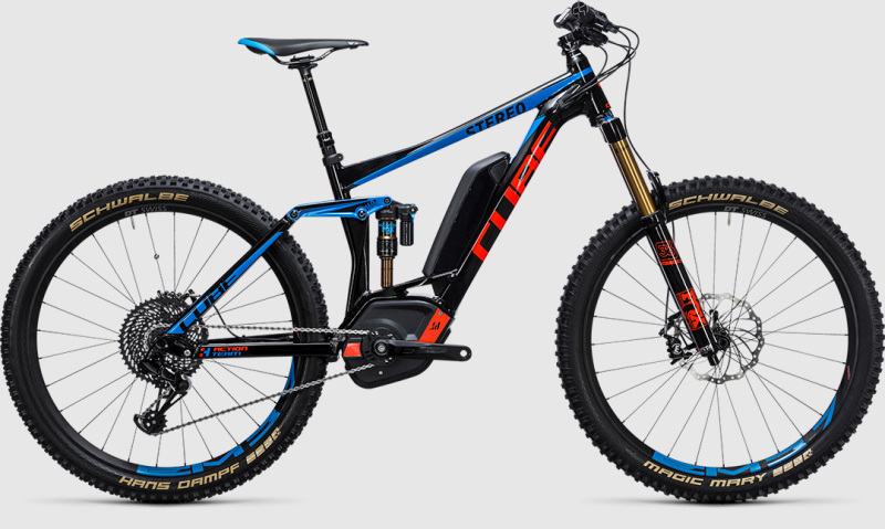 Cube Stereo Hybrid 160 HPA Action Team 500 27.5 (2017)