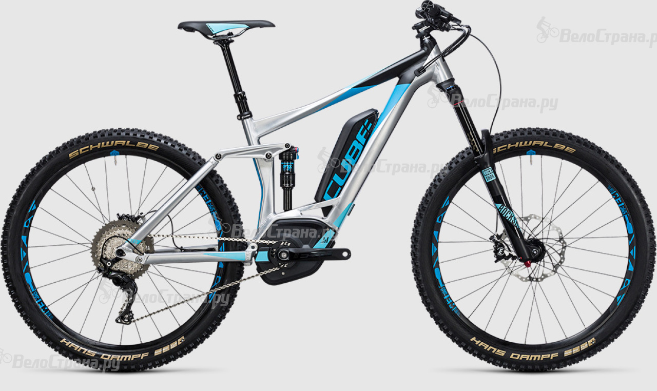 Велосипед Cube Stereo Hybrid 160 HPA Race 500 27.5 (2017) велосипед cube stereo 160 hpa race 27 5 2015