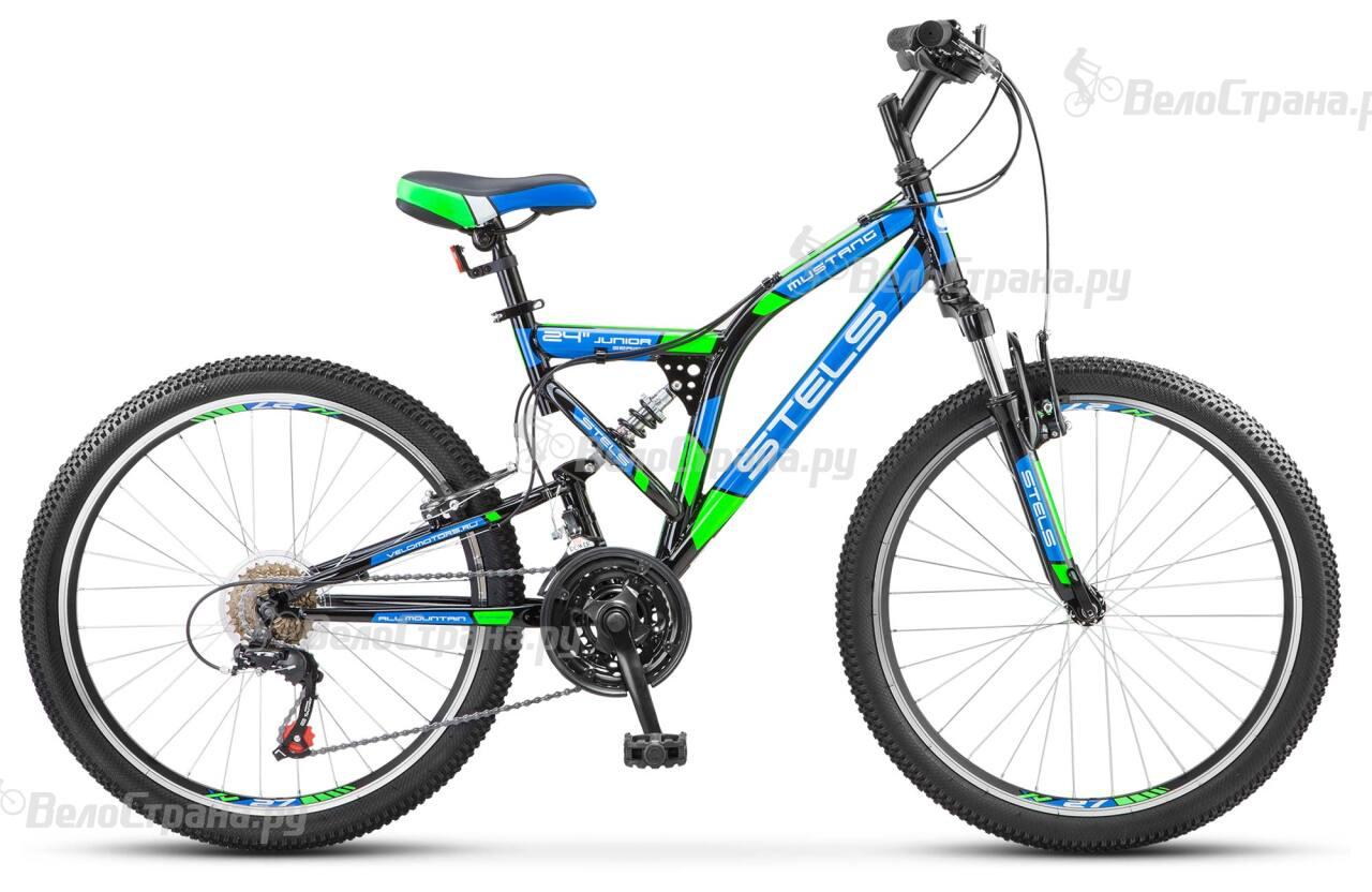 Велосипед Stels Mustang V 24 (2017) велосипед stels mustang 2015