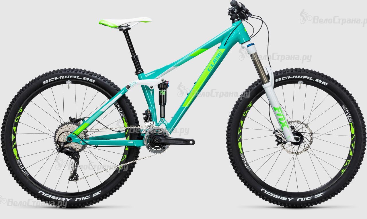Велосипед Cube Sting WLS 140 Race 27.5 2x (2017) велосипед cube sting wls 140 sl 27 5 2015