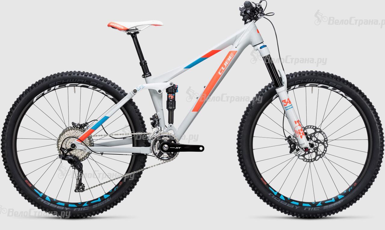 Велосипед Cube Sting WLS 140 SL 27.5 2x (2017) велосипед cube sting wls 140 sl 27 5 2015