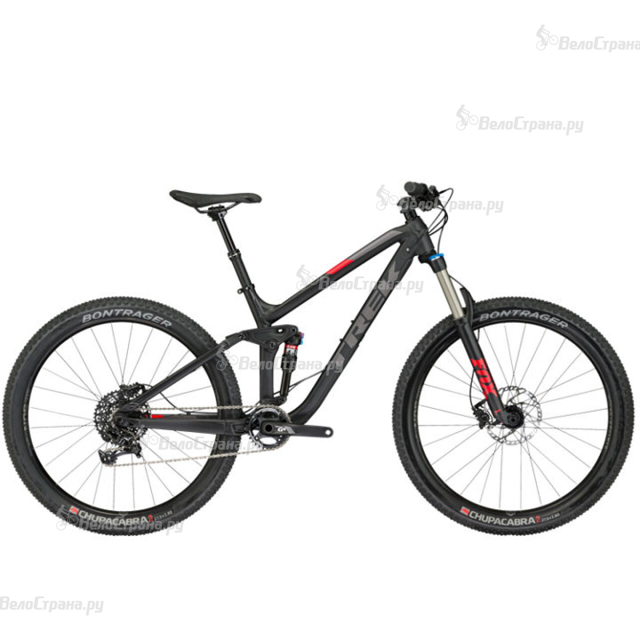 Велосипед Trek Fuel EX 8 27.5 PLUS (2017)