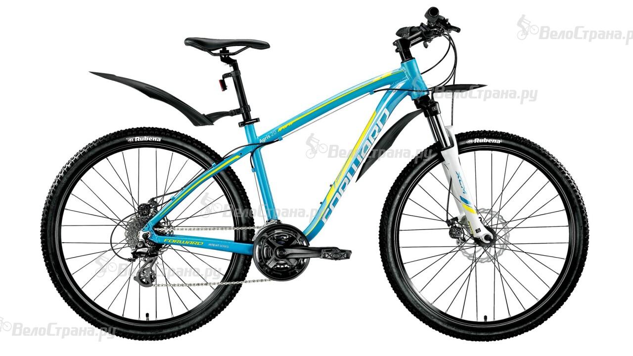 Велосипед Forward Agris 2.0 27,5 disc lady (2016) велосипед forward agris 3 0 disc 2016