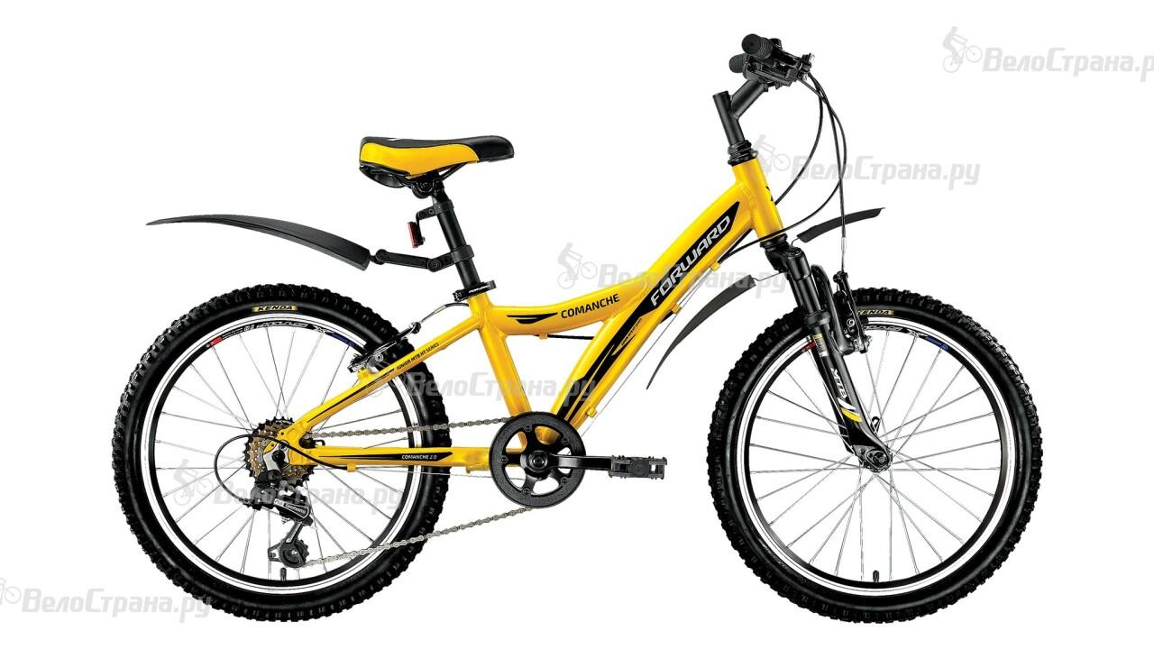 Велосипед Forward Comanche 2.0 (2016) велосипед forward terra 1 0 2016 18 navy white