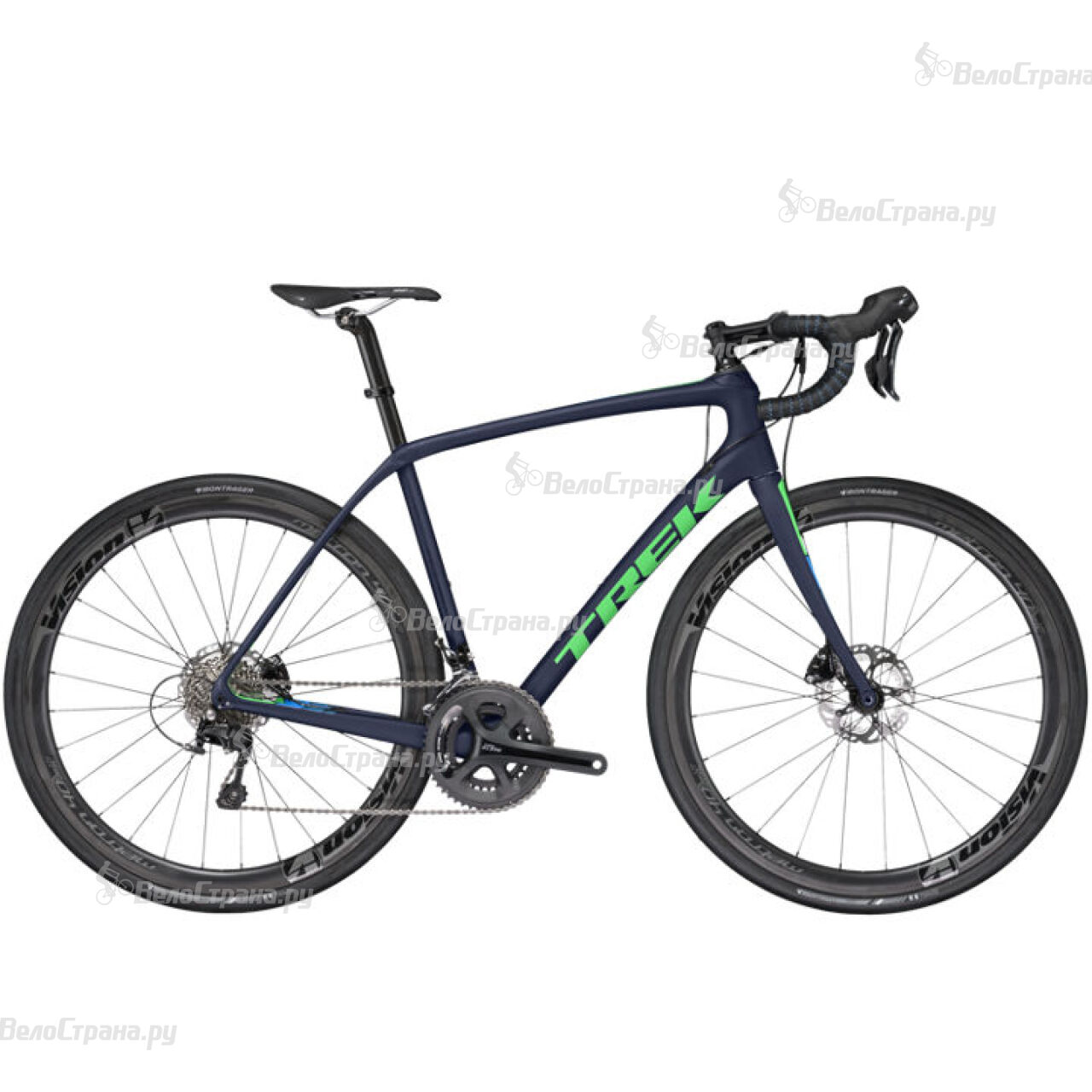 все цены на Велосипед Trek Domane SL 5 Disc (2017) в интернете
