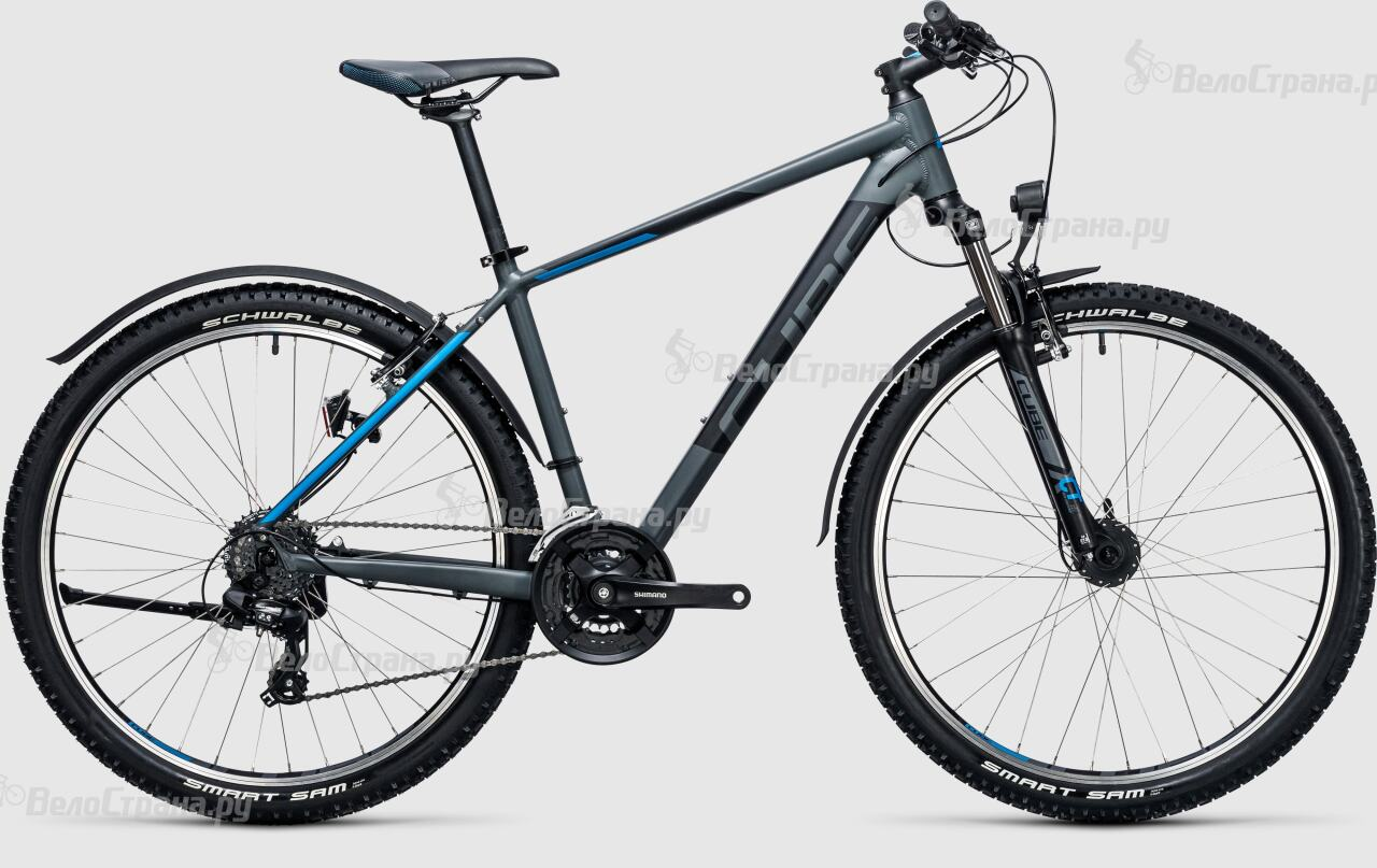 Велосипед Cube Aim Allroad 27.5 (2017) велосипед cube aim allroad 26 2015