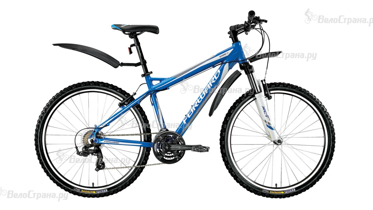 Велосипед Forward Quadro 1.0 (2016) двухколесный велосипед forward quadro 1 0 рост 19 26 2015 2016 синий