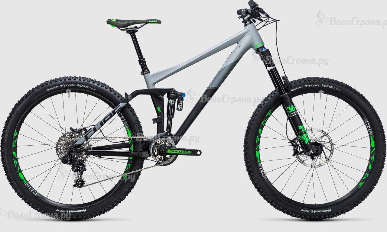 Велосипед Cube Fritzz 180 HPA Race 27.5 (2017) грипсы cube fritzz grips