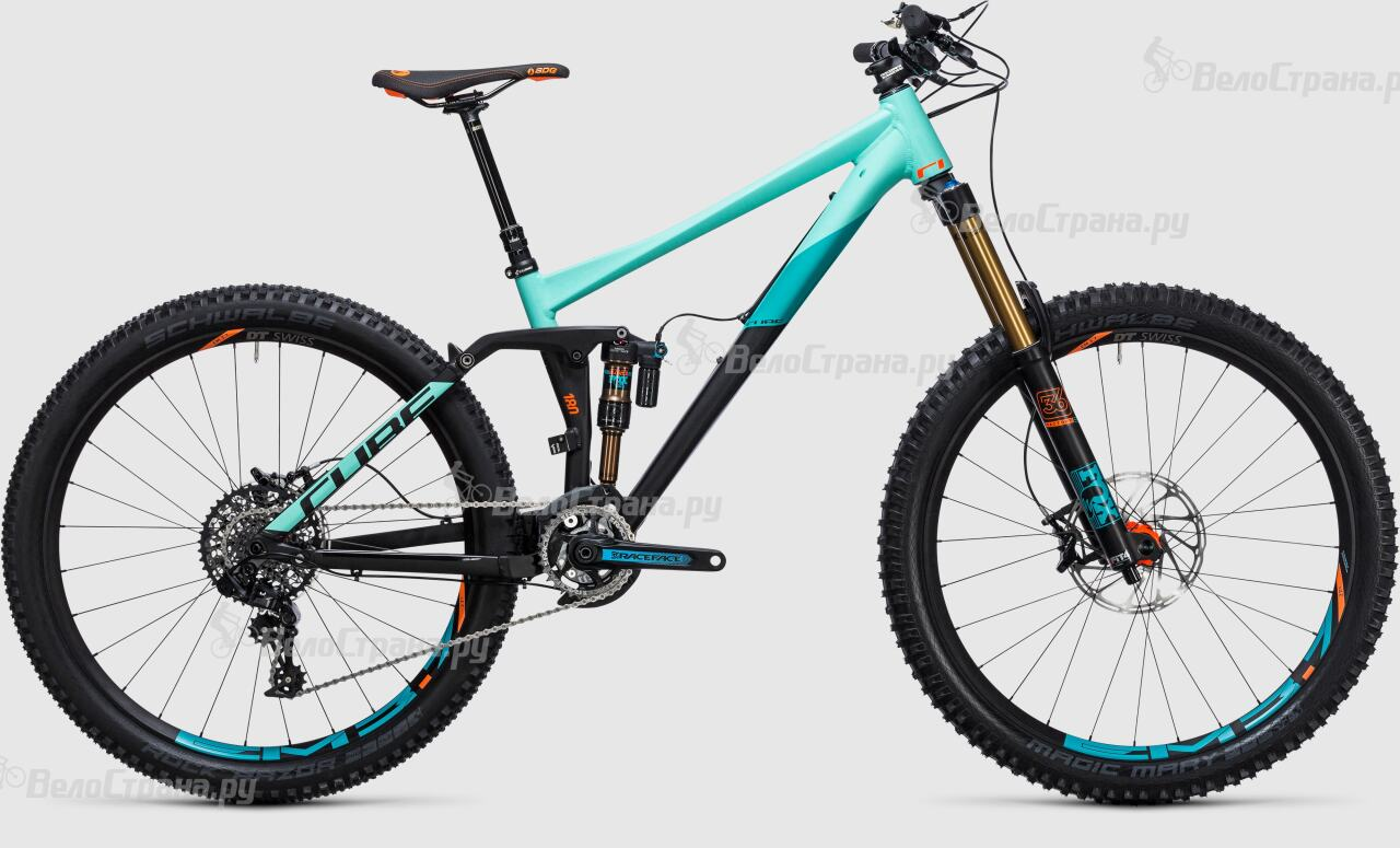 Велосипед Cube Fritzz 180 HPA SL 27.5 (2017) грипсы cube fritzz grips