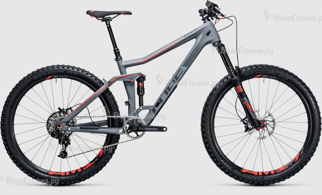 Велосипед Cube Stereo 160 C:62 SL 27.5 (2017) велосипед cube stereo 160 c 62 tm 27 5 2018