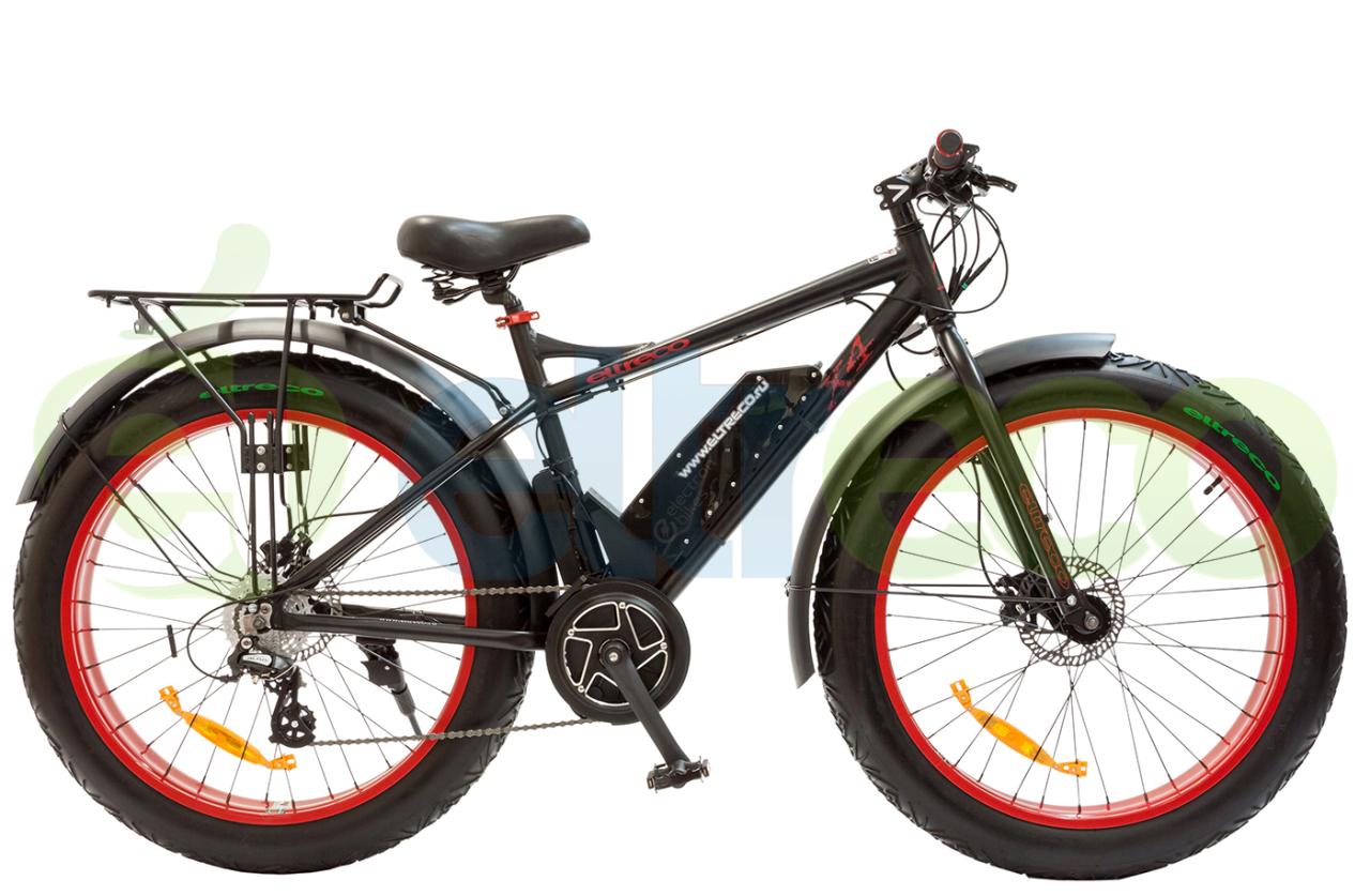 Велосипед Eltreco X4 ELECTRON BIKES CENTER MOTOR (2017)