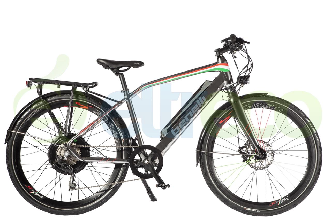 Велосипед Eltreco BENELLI 700W RAPIDA (2017)