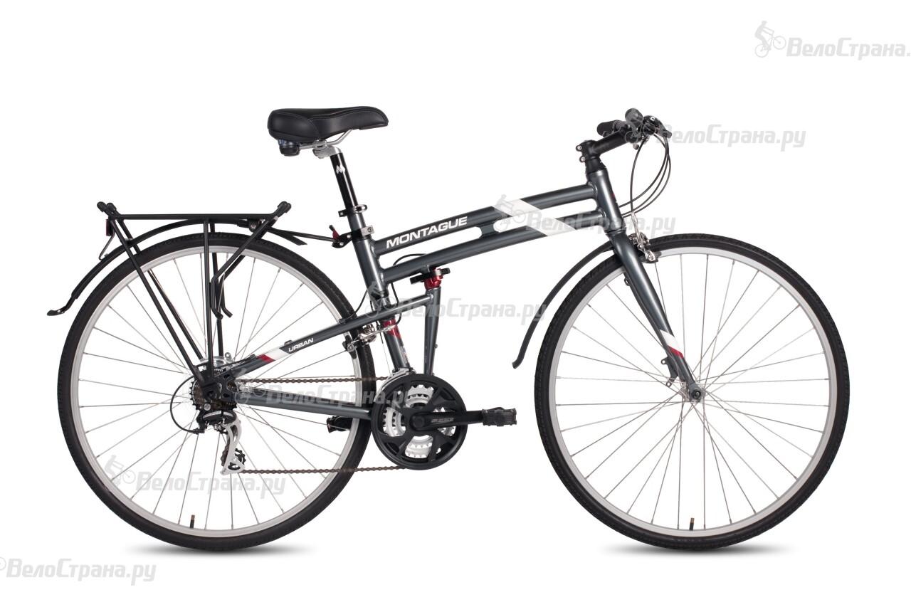 Велосипед Montague URBAN (2016) чехол для чемодана ratel цвет темно синий размер s высота чемодана 45 50 см