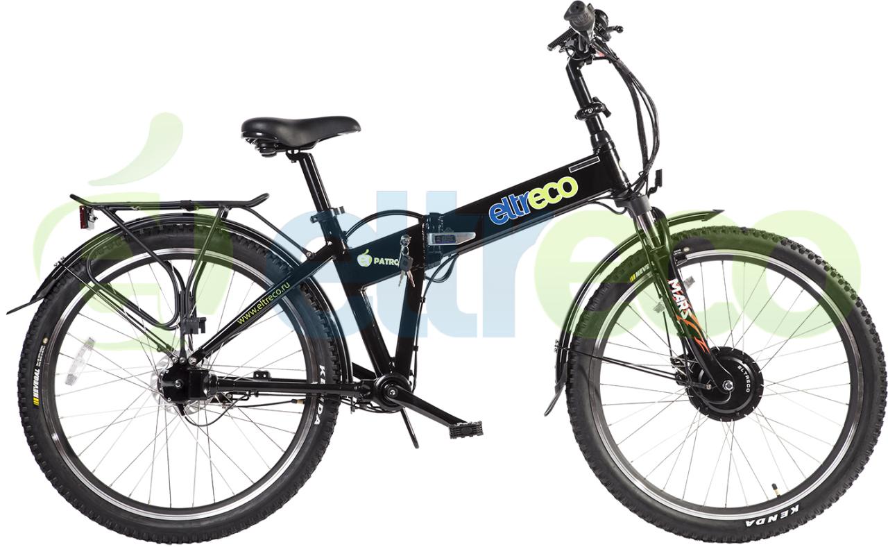 Велосипед Eltreco PATROL КАРДАН 26 NEXUS 7 BLACK (2017)
