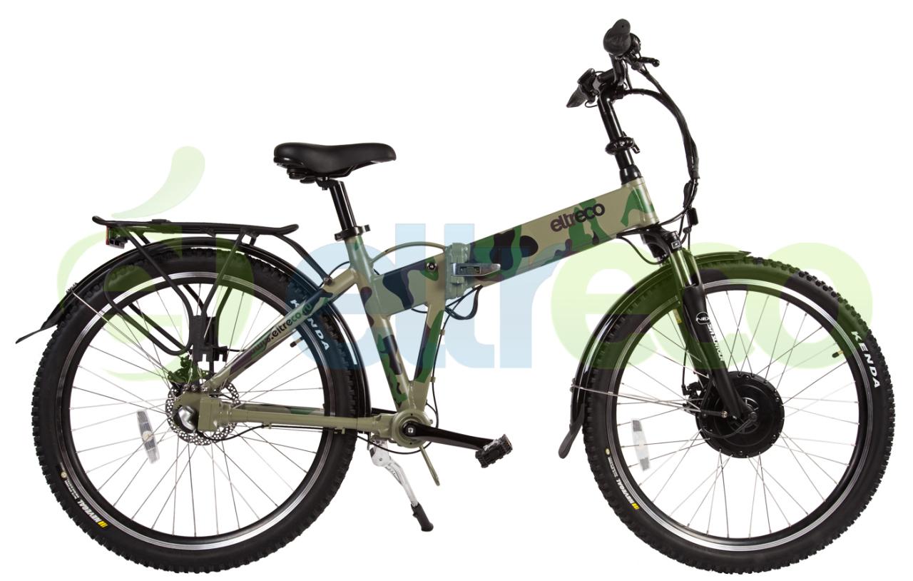 Велосипед Eltreco PATROL КАРДАН 26 CAM (2017)