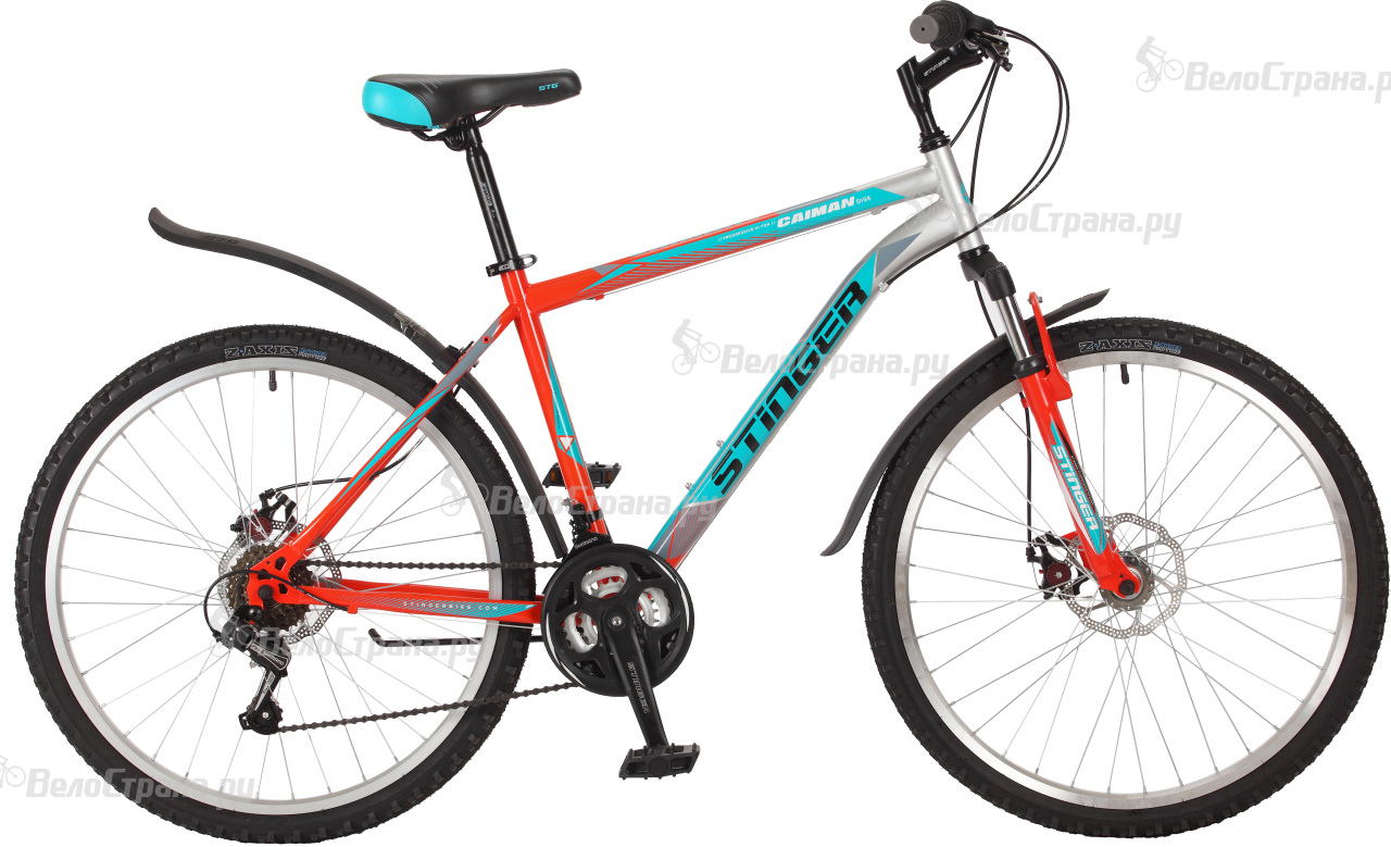 Велосипед Stinger Caiman D 26 (2017) велосипед stinger caiman 26 2016