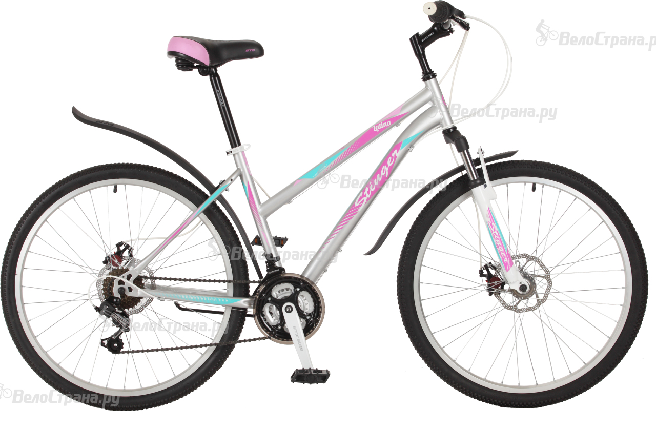 Велосипед Stinger Latina D 26 (2017) велосипед stinger latina 16 2016 grey