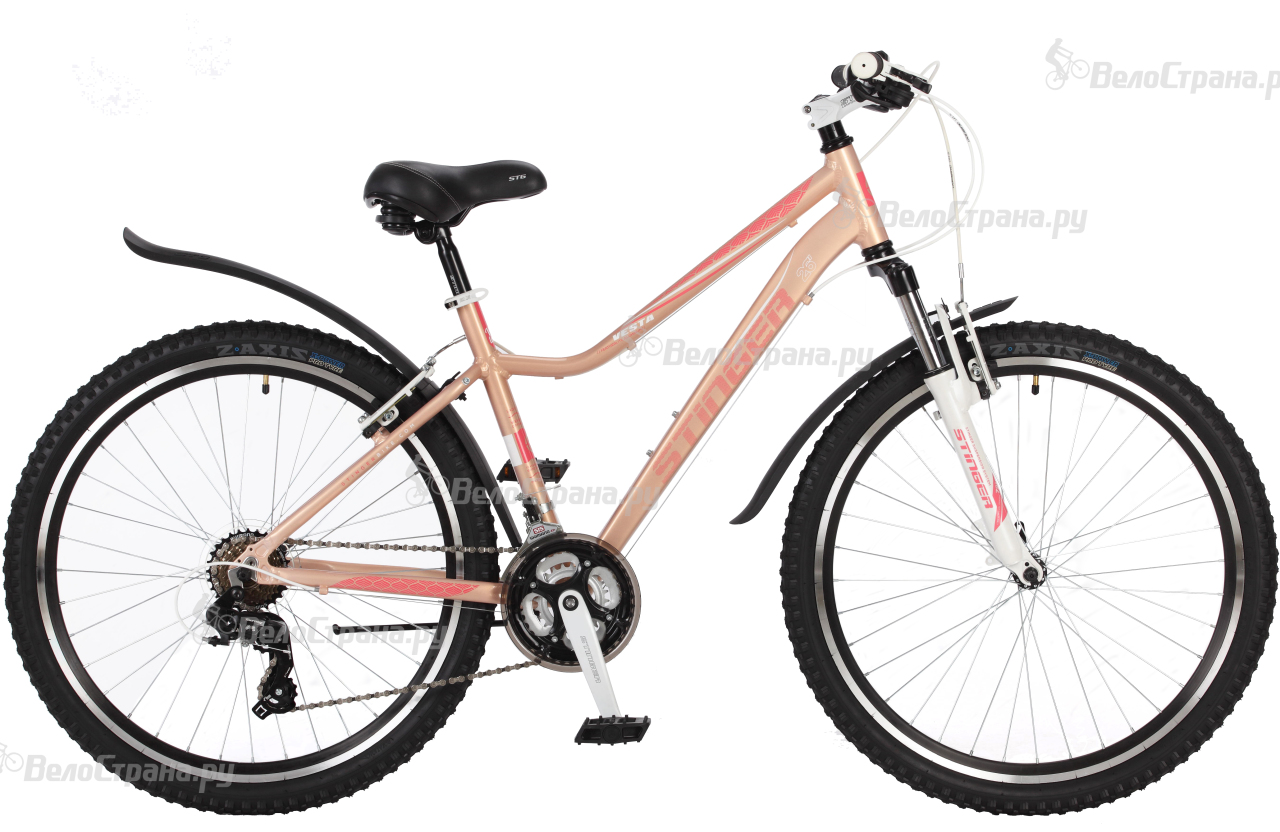 Велосипед Stinger Vesta 26 (2017) велосипед stinger defender 26 2017