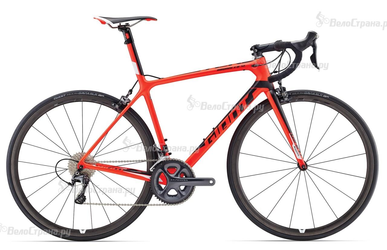 Велосипед Giant TCR Advanced SL 2-KOM (2017) велосипед giant tcr advanced sl 2 2017