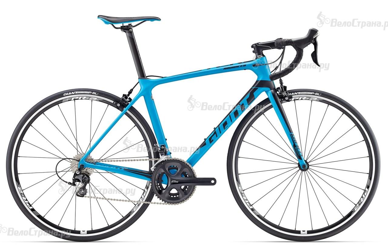 Велосипед Giant TCR Advanced 2 (2017) велосипед giant tcr advanced sl 2 2017