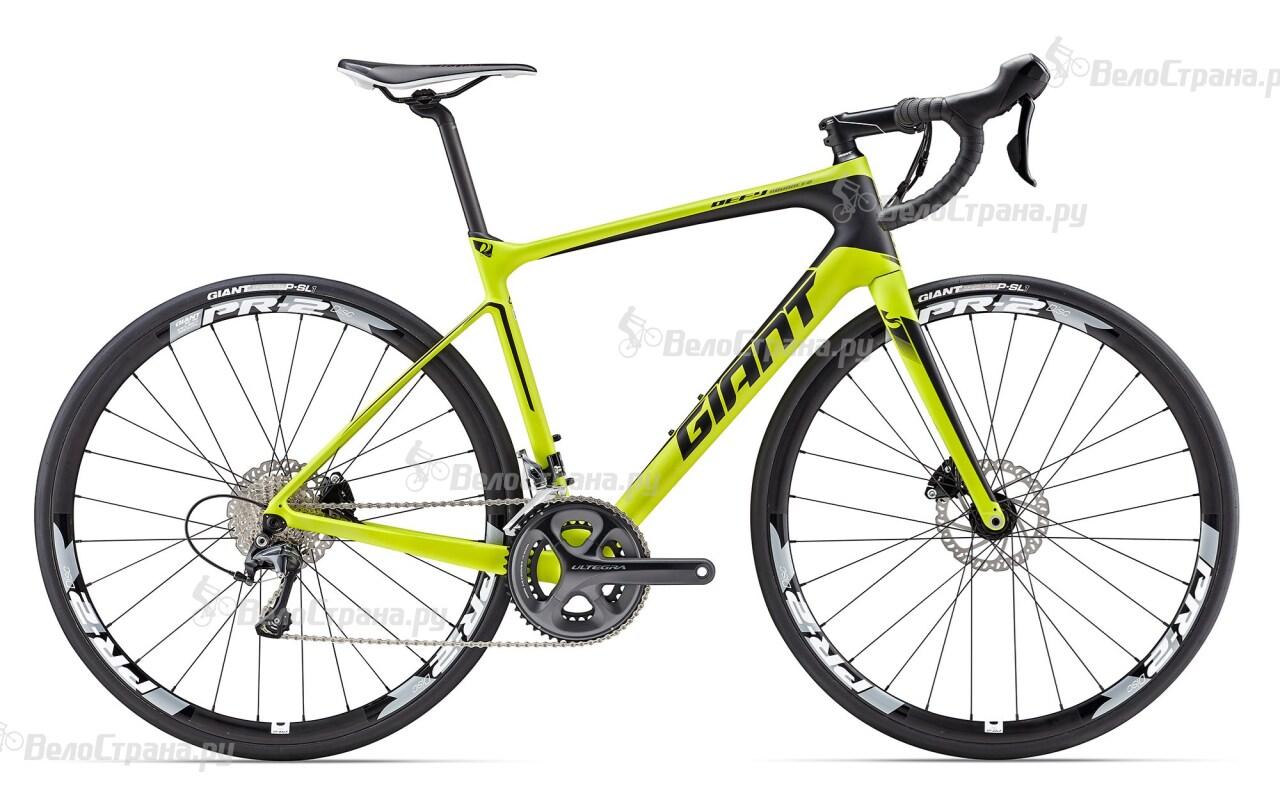Велосипед Giant Defy Advanced 1 (2017) велосипед giant defy advanced 2 2017