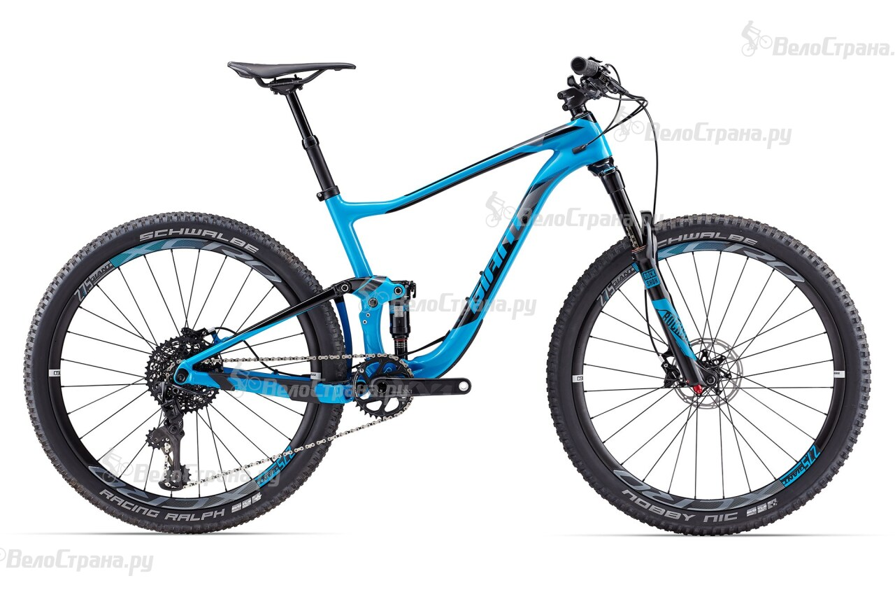 Велосипед Giant Anthem Advanced 0 (2017) giant anthem advanced 27 5 1 2016 yellow black