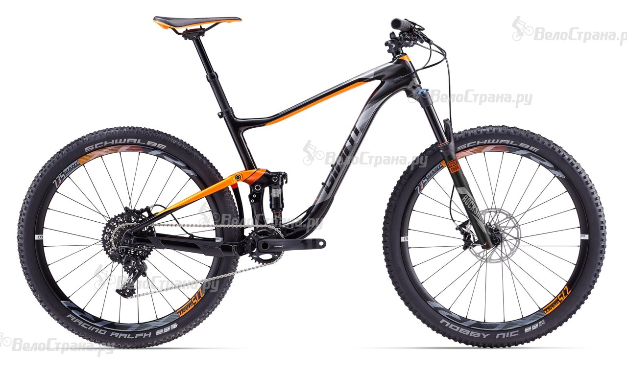 Велосипед Giant Anthem Advanced 2 (2017) giant anthem advanced 27 5 1 2016 yellow black