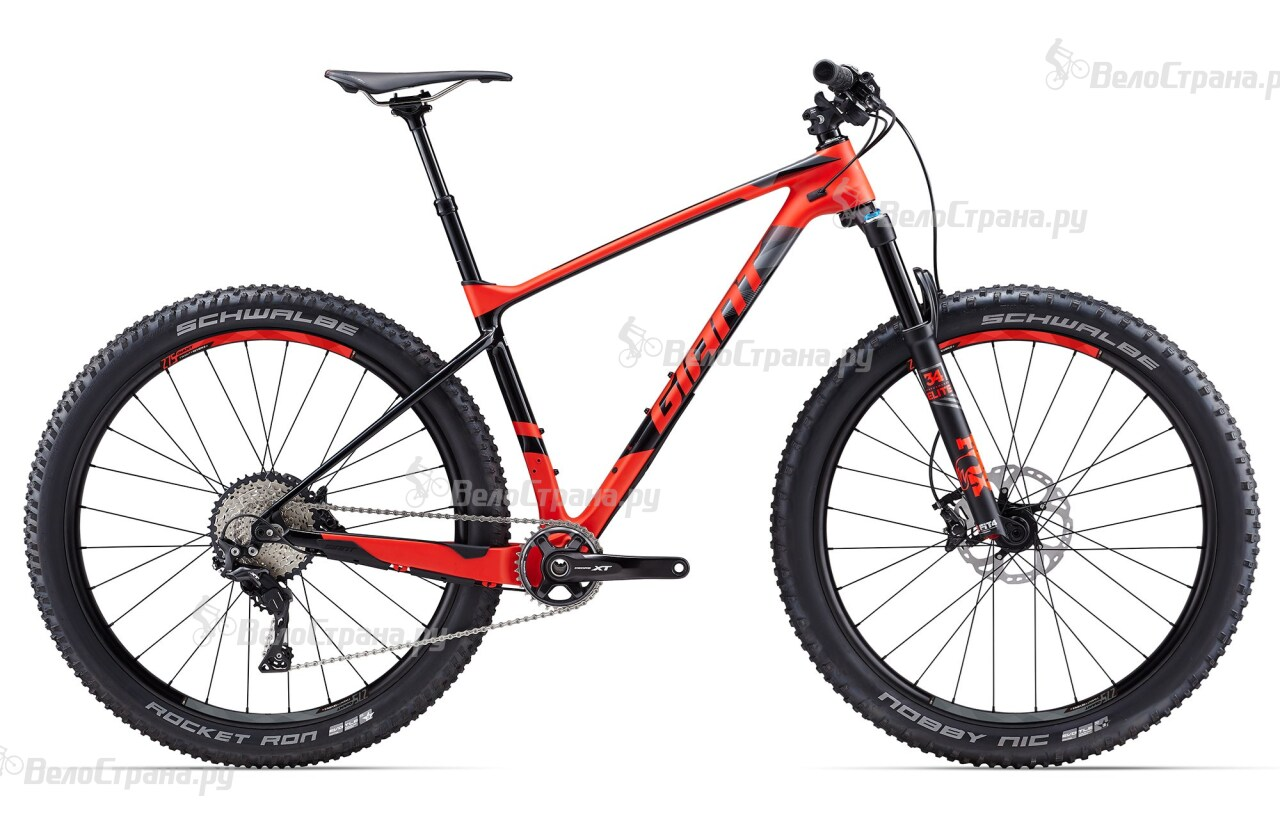 Велосипед Giant XTC Advanced 27.5+ 1 (2017)