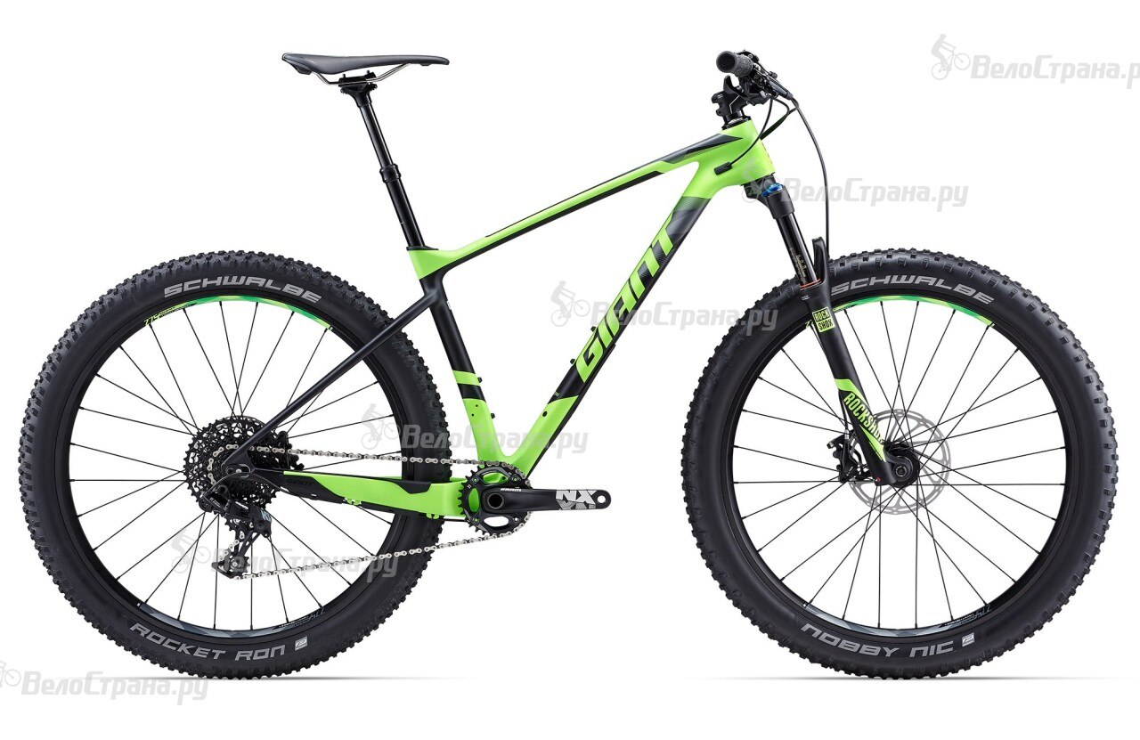 Велосипед Giant XTC Advanced 27.5+ 2 (2017) giant xtc advanced 27 5 2 2016