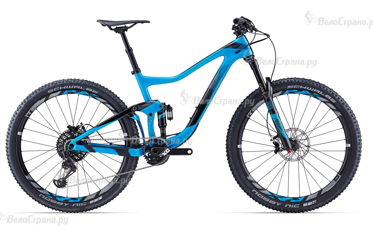 Велосипед Giant Trance Advanced 0 (2017) велосипед giant trance advanced 27 5 1 2016