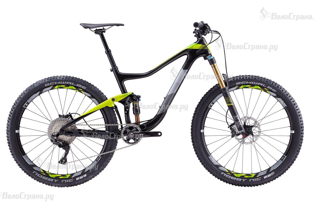 Велосипед Giant Trance Advanced 1 (2017) велосипед giant trance advanced 27 5 1 2016